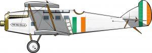 El avión de Michael Collins