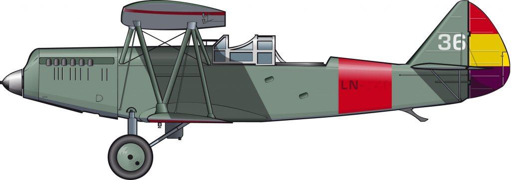 El avión que detuvo al fascismo en Guadalajara