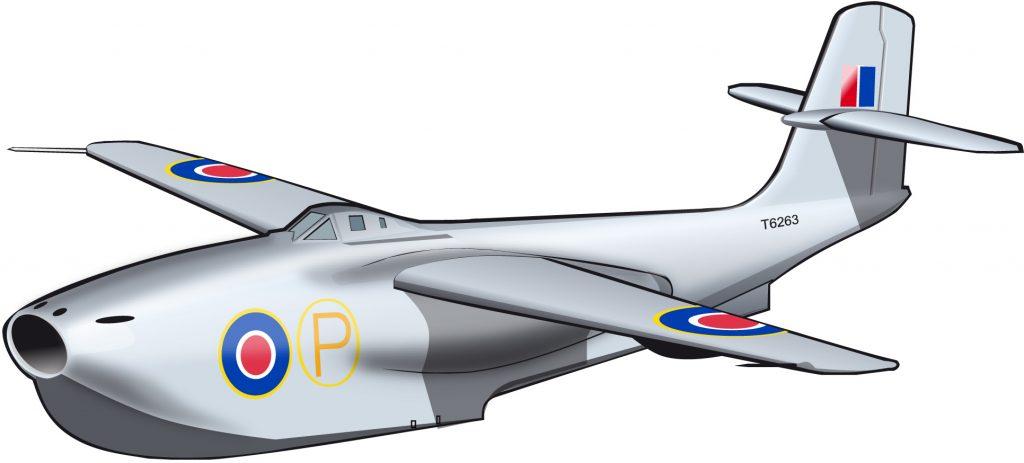 El extraño caza jet océanico británico