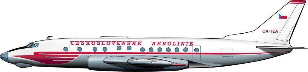 Tupolevs para CSA
