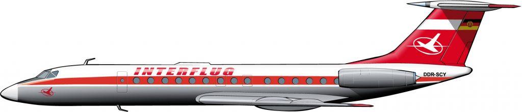 Interflug, la historia paralela de Lufthansa