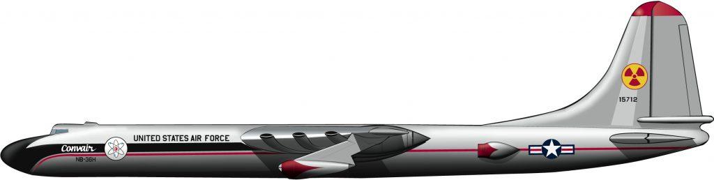 Doble pesadilla aérea: un bombardero atómico propulsado por energía atómica