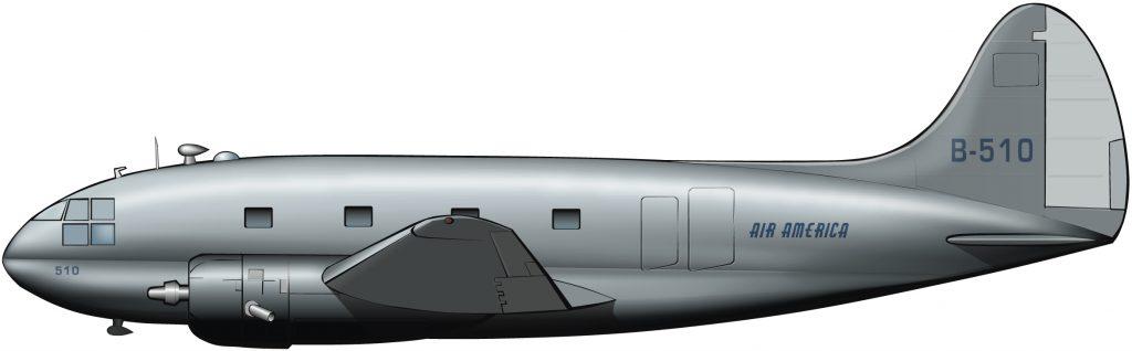 Una aerolínea de la CIA
