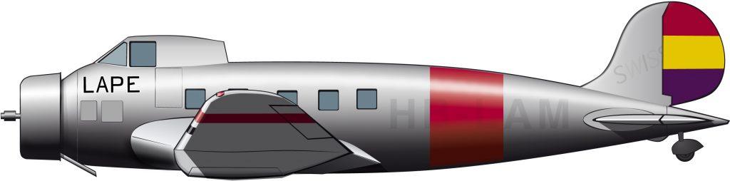 El ensayo aéreo de General Motors y la aerolínea republicana