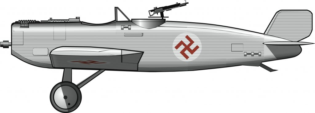 Un avión ultramoderno para la independencia de Letonia