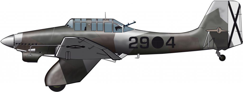 La puesta a punto del Stuka se hizo en Castellón