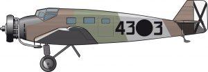 El avión del virrey de Andalucía