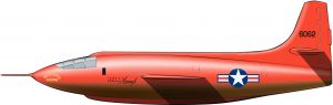 El avión diseñado como una bala de fusil con alas
