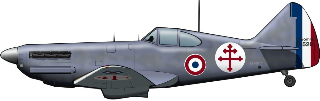 La otra fuerza aérea de Francia