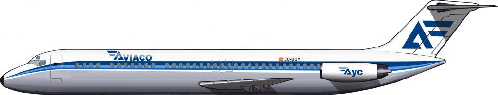 El avión que convirtió la península Ibérica en un pañuelo