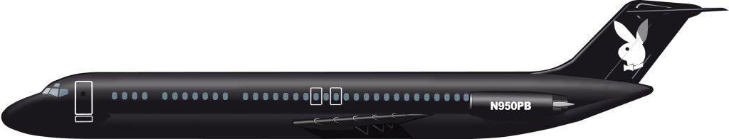 La aviación de Playboy