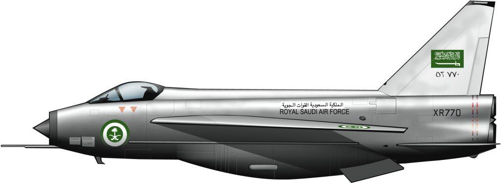 El último avión de guerra británico para Arabia