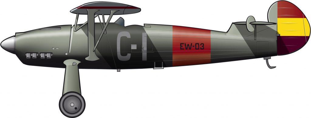 Un avión alemán para la República