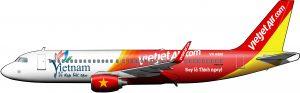 A320 de VietJetAir