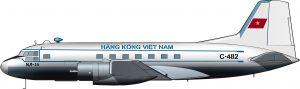 El avión de Ho Chi Minh