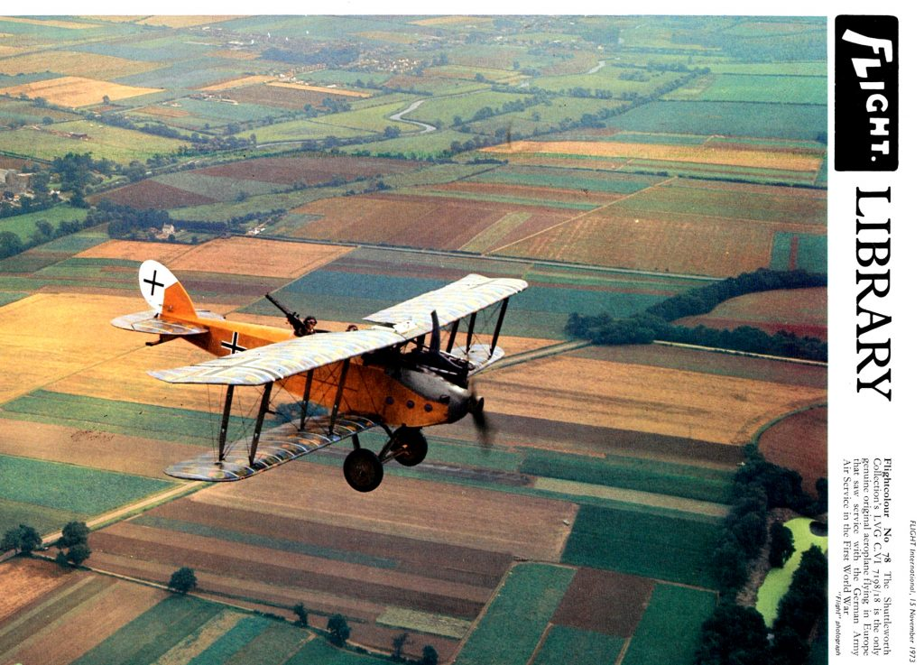 LVG C.VI, 1918