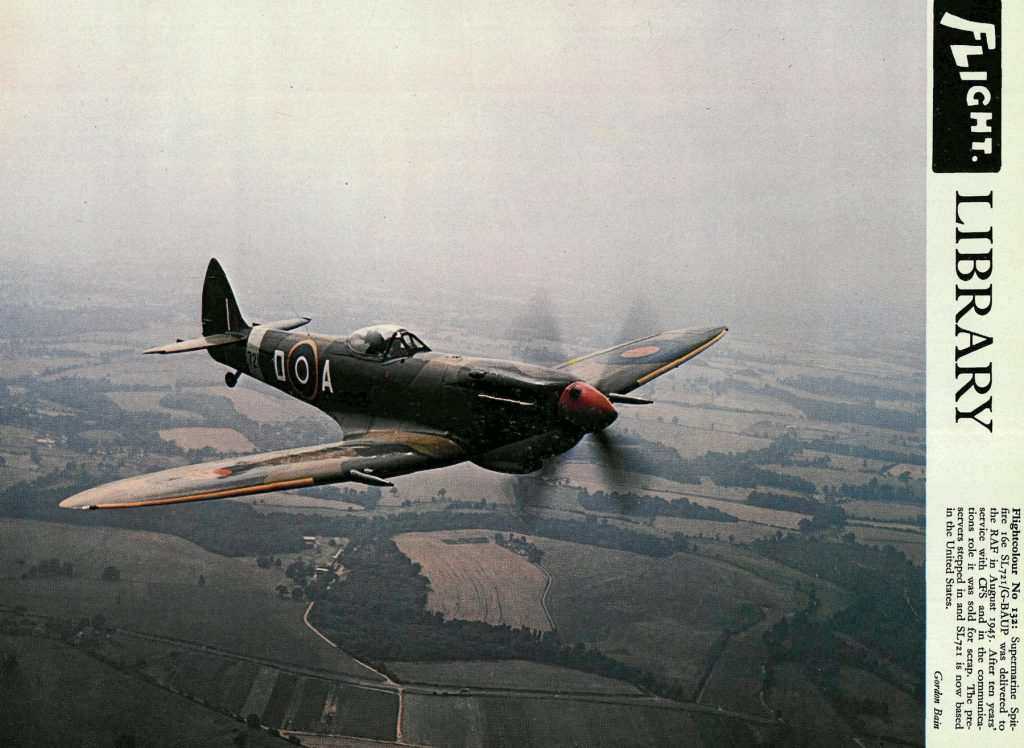 Supermarine Spitfire, 1945