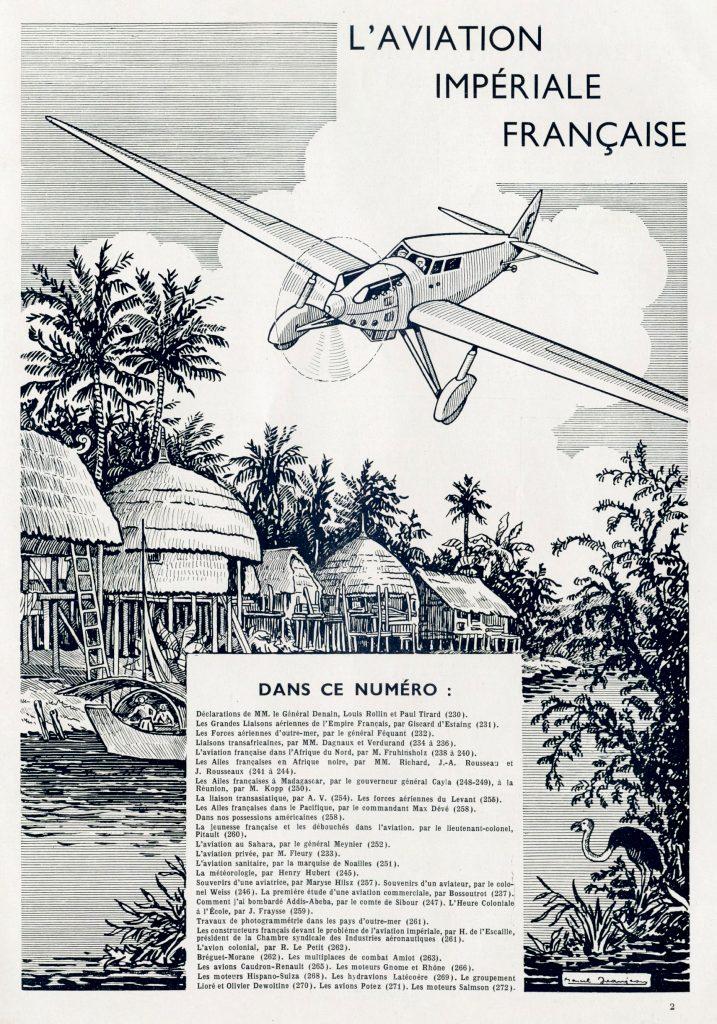 La aviación imperial francesa