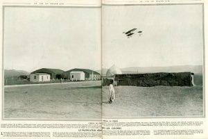 El pacificador aéreo en las colonias