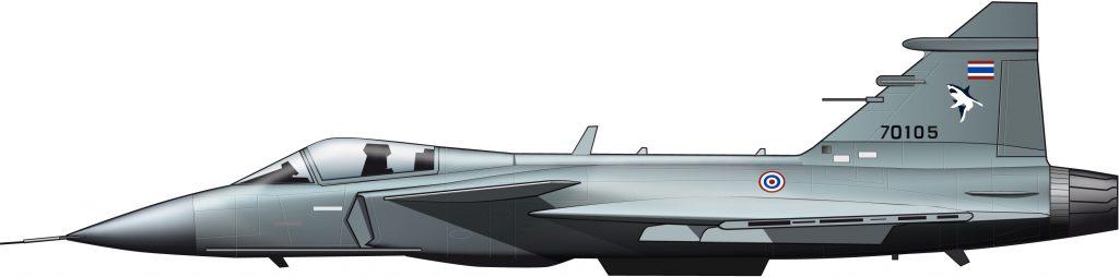 Saab Gripen, Tailandia, 2017