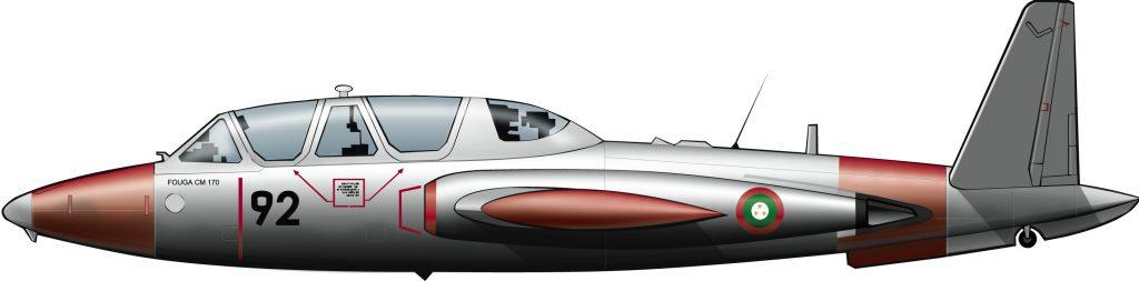 La aviación paracolonial de Katanga