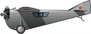 El primer avión de Tupolev, en los años de la NEP