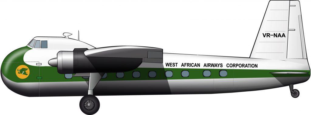 Medio siglo antes de Ryanair: low cost para los nativos en la WAAC