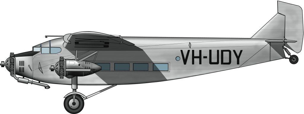 Aviones mineros en Nueva Guinea