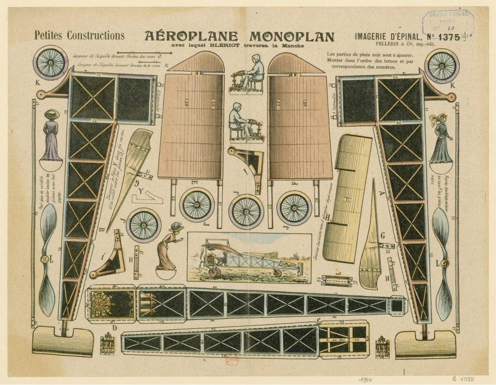 El Monoplano Blériot deconstruído