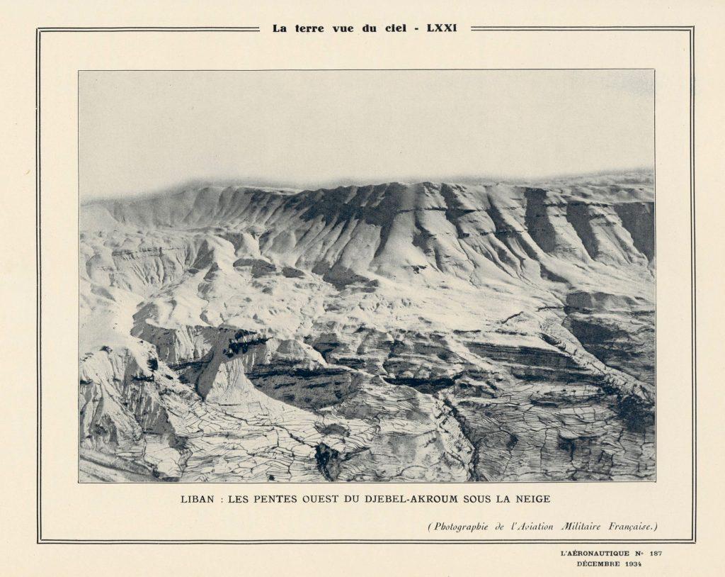 El Djebel-Akroum bajo la nieve