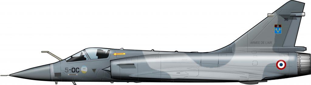Los Mirage 2000 metropolitanos visitan la Guyana francesa