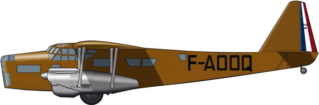 El avión de los gobernadores