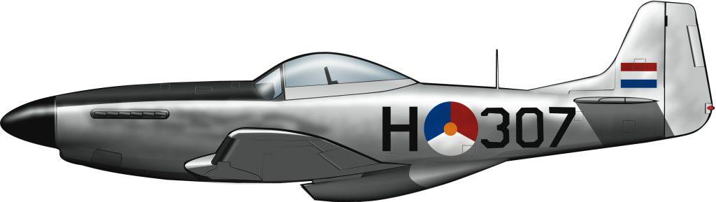 Mustangs para la aviación holandesa en las Indias Orientales