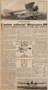El extraño modelo colonial Weymann Type 66