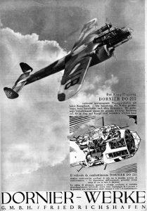 Das Kampflugzeug Dornier Do 215