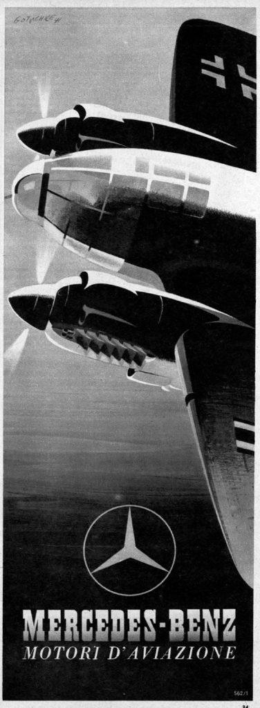 Nazi Aircraft Ads: Heinkel He 111