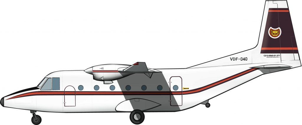 Un Aviocar para Venda