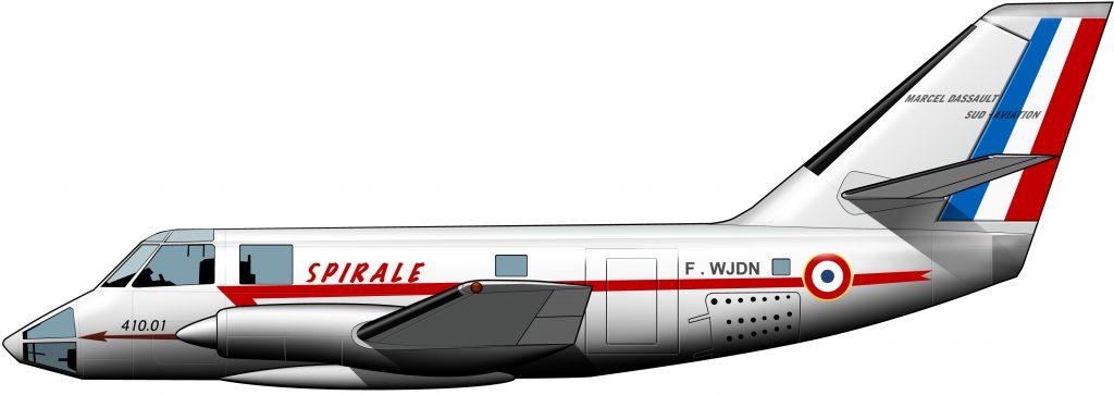 Dassault Spirale: lejano antecesor colonial del Falcon