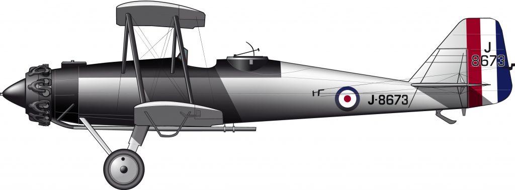 Gloster Goral: el estado del arte del avión colonial en la década de 1920