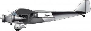 Como un barco o un Zeppelin: el Ni.D 590 Colonial