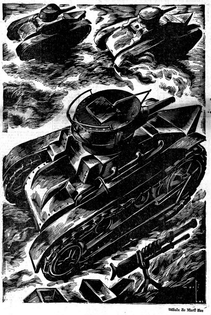 Tanques y aviones: todo lo necesario para la guerra