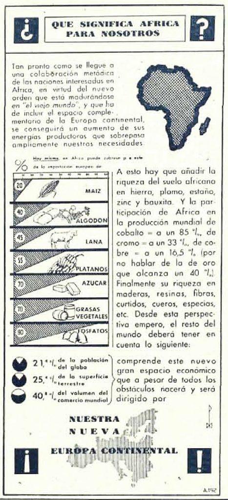 Planes nazis para África
