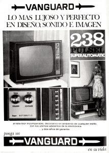 Lujosos aparatos de TV para un canal y medio