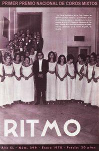 XVIII Concurso Nacional de Coros y Danzas de la Sección Femenina del Movimiento