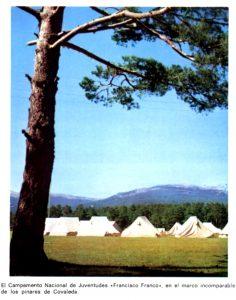 Un campamento de la OJE