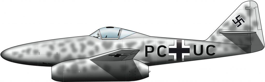 El jet subterráneo del Reich