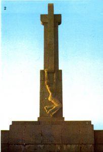 Monumento a los caídos en Cabo Mayor