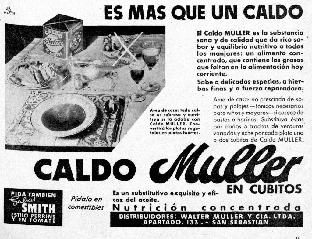 Los inquietantes anuncios de comida de la década de 1940