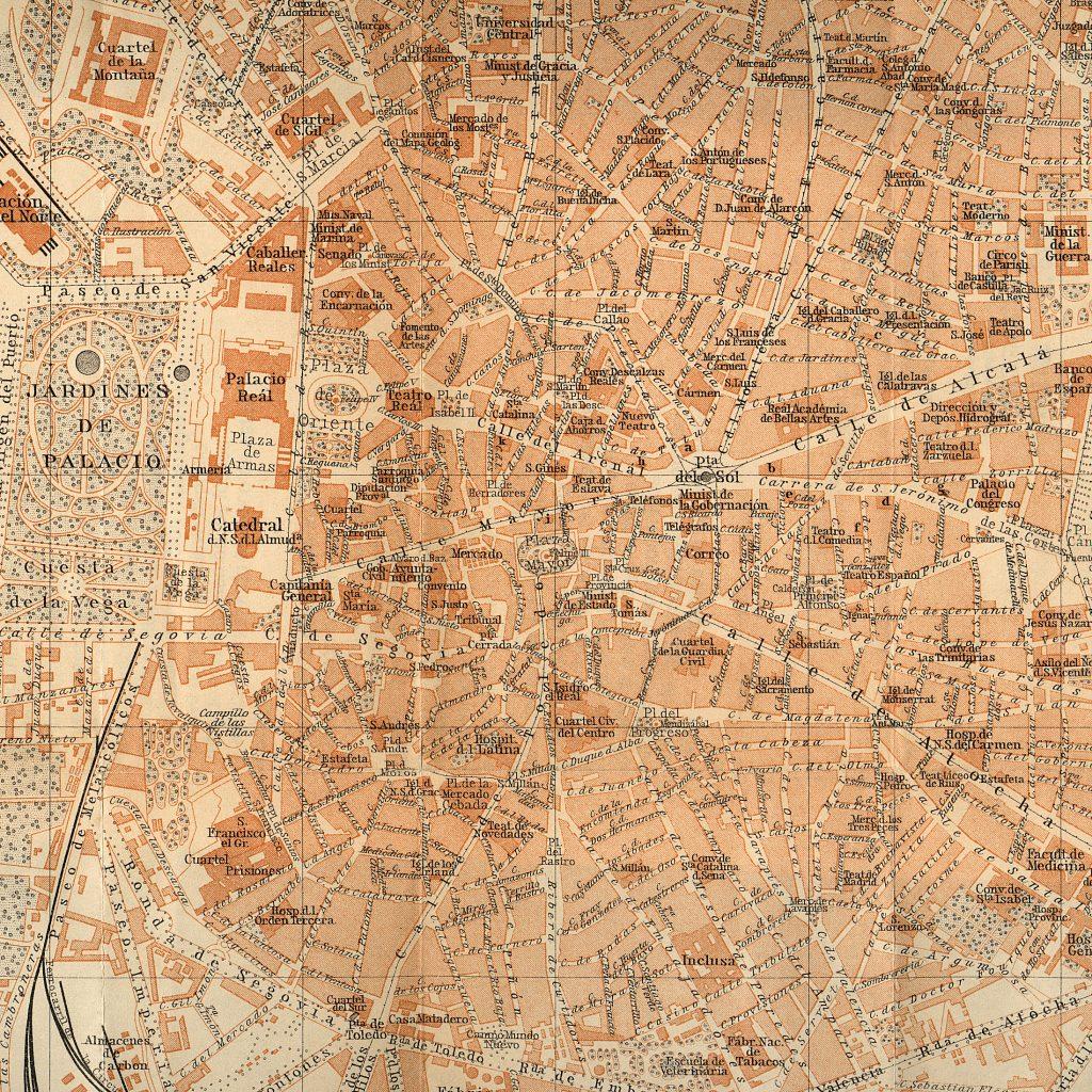 Madrid en 1900