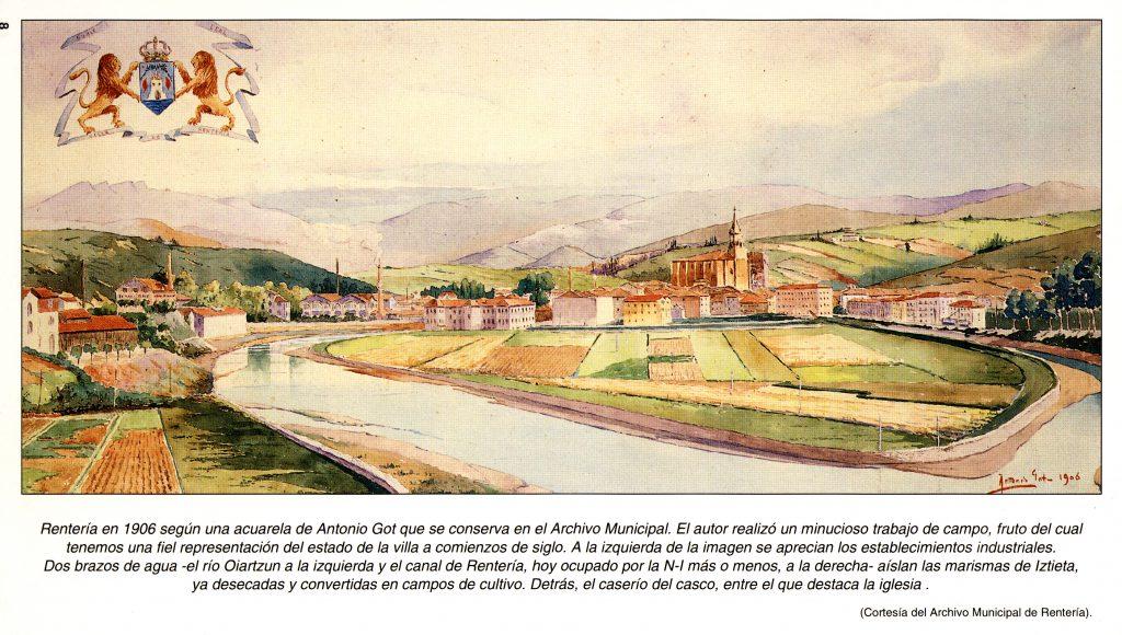Rentería en 1906